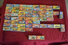 VINTAGE LOT OF 56 MATCHBOX LESNEY VEHICLES CARS TRUCKS ALL IN ORIGINAL BOXES