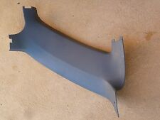 COMMODORE VN VP VR VS WAGON L/H INTERIOR REAR QUARTER WINDOW GREY PLASTIC TRIM