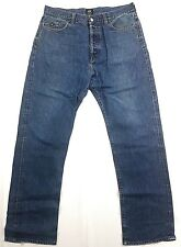 VINTAGE ENERGIE SIXTY ITALY DENIM BLUE JEANS MENS  STRAIGHT LEG Size 36 x 32