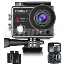 Campark 4k Action Cam WiFi Sports Camera FHD 16mp 170° Impermeabile Telecomando