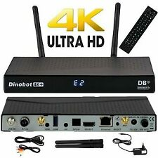 Decoder Linux Dinobot 4K+ Combo H.265 Enigma2/Android wifi