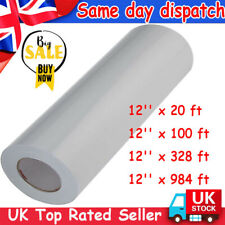 More details for 100m clear vinyl application tape for car wall craft art decal transfer paper uk