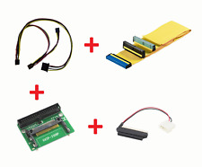 "New Set Power Cable, IDE Cable, CF-IDE, IDE 2.5-3.5"" Adapter Amiga 600 1200 #620"
