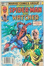 Marvel Team Up #127 Spider-Man and the Watcher (Mar 1983, Marvel)