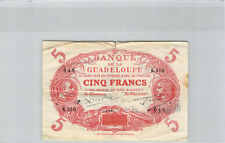 Guadeloupe 5 Francs (1945) K.316 n° 046 Pick 7e