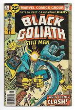 Black Goliath #4 Marvel Comics 1976 Jack Kirby art / Stilt Man / Whiz Kids
