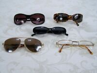 Lot of 5 Glasses and Sunglasses Mudd Magnivision Madonna MCD Aviator