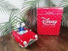 Schmid Rare Disney Music Box Goofy Convertible Corvette