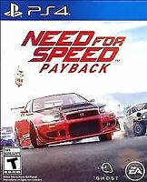 Need for Speed Payback (Sony PlayStation 4, 2017)