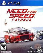 NEW! NEED FOR SPEED PAYBACK (PlayStation 4 PS4 2017) Brand New & Factory Sealed!