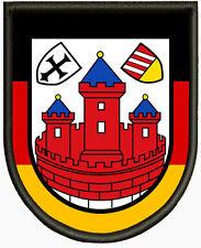 Wappen von Rotenburg (Wümme), Aufnäher ,Pin, Aufbügler