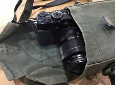 SHOULDER BAG PERFECT SIZE FOR FUJI XPRO 1 CAMERA. GENUINE MILITARY ISSUE