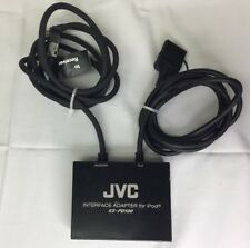 Genuine OEM JVC KS-PD100 Interface Adapter For Apple Ipod