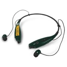 Mizco Sports Wireless Stereo Bluetooth Hands-Free Headset NFL Green Bay Packers