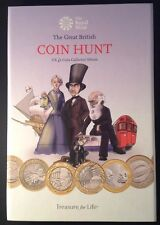 UK £2 Two Pound Collection Folder Coin Hunt Album 3 Tier 2017