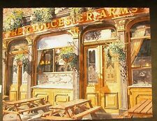 """Original Ltd Edition Giclee By Elyse Cohen """"Glouester Arms"""""""