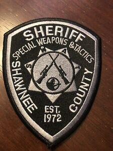 Kansas  Police - Shawnee Sheriff SWAT  Police  Patch