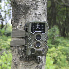 16MP HD Hunting Trail Camera PIR IR LED Motion Activated Security Wildlife 2018