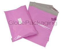 "20 x PINK 10x14"" Postal Postage Mailing Bags Sacks 10"" x 14"" SAME DAY DISPATCH"
