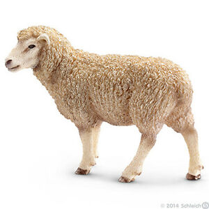 NEW SCHLEICH 13743 Sheep Ewe Standing - RETIRED