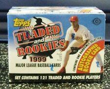 1999 Topps Traded & Rookies Set Josh Hamilton Auto RC
