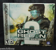 Tom Clancy's Ghost Recon: Advanced Warfighter 2 PC FPS First Person Shooter NEW