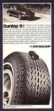"""1971 Porsche 911 Coupe photo """"Dunlop It!"""" Dunlop Radial Tires promo print ad"""