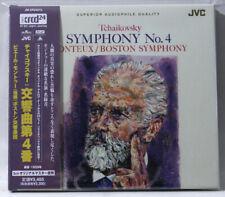 TCHAIKOVSKY Symphony No 4 / MONTEUX - XRCD JVC JAPAN