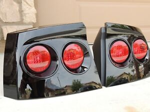 06-10 Charger Smoked Tail Lights Black OE 🔥 CUSTOM! Tinted non led painted