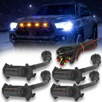 Smoked Lens Front Grille Lighting Kit For 2016-Up Toyota Tacoma w/TRD Pro Grill