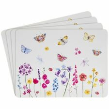 Lesser & Pavey Butterfly Garden 4 x Placemats Or 4 Coasters Fast & free postage