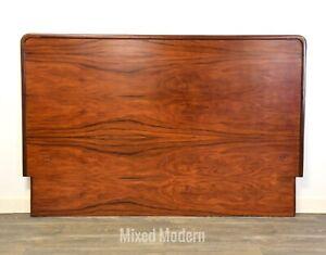 Danish Rosewood Mid Century Modern Queen Headboard