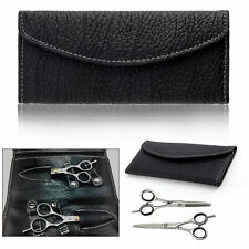 "6"" Professional Hair Cutting & Thinning Scissors Shears Hairdressing Set case"