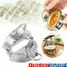 Stainless Steel Dumpling Maker Machine Wraper Dough Cutter Eco-Friendly Tool UK