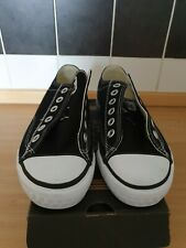 Lonsdale Ladies Black and White Canvas Shoes size uk 5