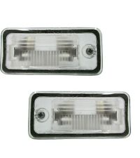 fits AUDI A6 A3 A5 S5 A8 S8 Q7 2005-2017 LICENSE PLATE LAMPS ASSEMBLY PAIR
