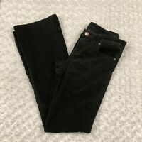 KUT From The Kloth FARRAH Baby Boot Cut Jeans Brown Corduroy Stretch Size 6