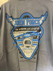 NHRA DRAG RACING An American Legend T-Shirt 16X JOHN FORCE Champions  XL NEW!