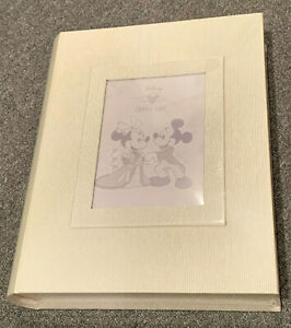 Disney Cruise Line Wedding Photo Album/Book ??? NEW SEALED Mickey Minnie World