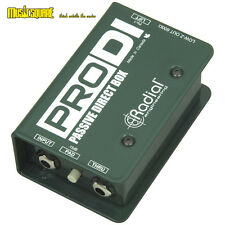 Radial Engineering ProDi Passive Instrument Direct Box Bass/Guitar/Synth Pro Di
