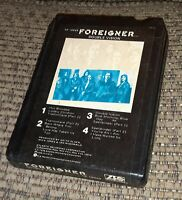 FOREIGNER DOUBLE VISION 1978 8 TRACK TAPE ATLANTIC RECORDS LATE NITE BARGAIN