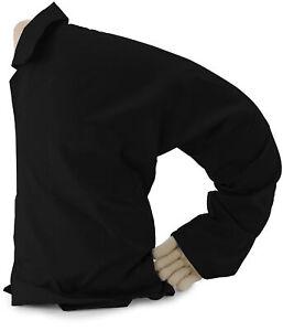 Boyfriend Pillow - Cuddly Form Body Pillow with Benefits - Body Pillow, Black