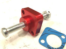 BILLET RED MANUAL CAM CHAIN TENSIONER for 02-09 HONDA INTERCEPTOR 800 / VFR -6r