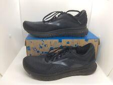 BROOKS Mens Glycerin 18 Black Running Training Athletic Shoes Sz 10 ZE-297