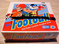 1988 Topps Football Cello Box ~ SHARP CELLOPHANE WRAPPED FROM A SEALED CASE