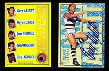 1995 Select Gary Ablett Signature Card No. 010 of 500 LOW NUMBER r