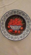 CHATEAU VALMONT Porcelain Decorative Plates - Set of 2