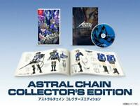 ASTRAL CHAIN COLLECTOR'S EDITION Switch Game Software & Artbook & soundtrack CD
