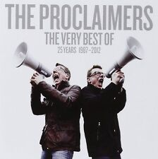 THE PROCLAIMERS THE VERY BEST OF CD 25 YEARS 1987-2012 (GREATEST HITS)