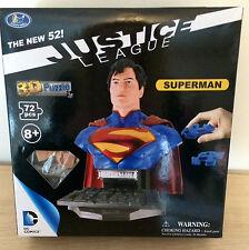 Superman 3-D Puzzle Dc Heroes